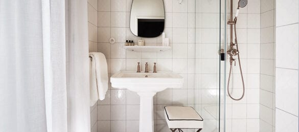 Linge de bain appartement bergan