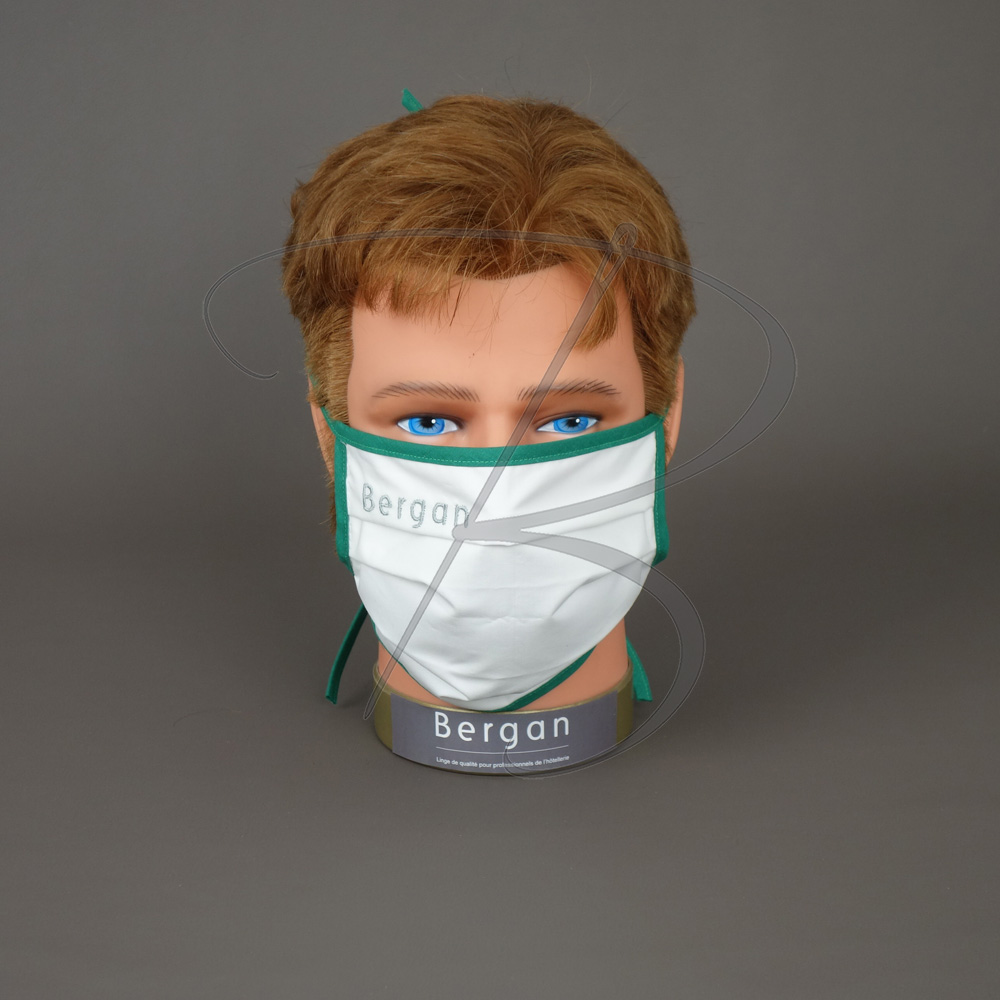 Masque barrière Personnalisable - Made in France - Bergan