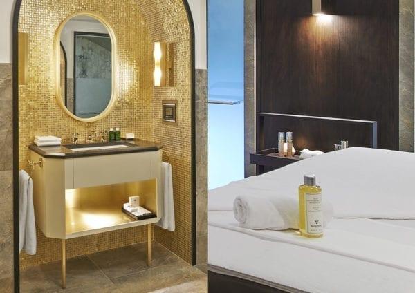 L apog e courchevel a choisi bergan pour le textile et le linge de son h tel de luxe 5 toiles for Linge de lit pour hotel de luxe